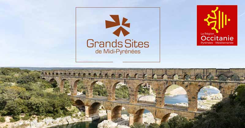 Les grands sites d'Occitanie